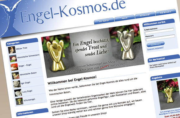 Referenz KULTExpress - Engel-Kosmos